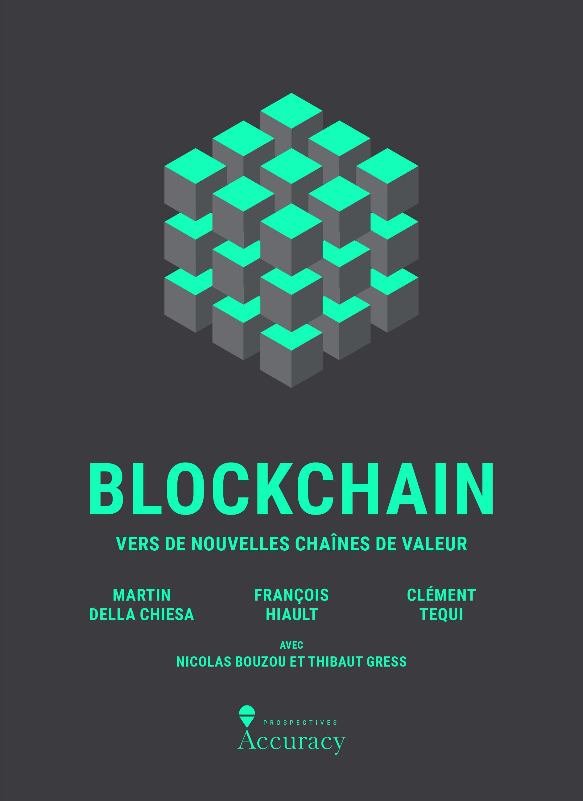 Livre: Blockchain, vers de nouvelles chaînes de valeur (seconde partie) 0001