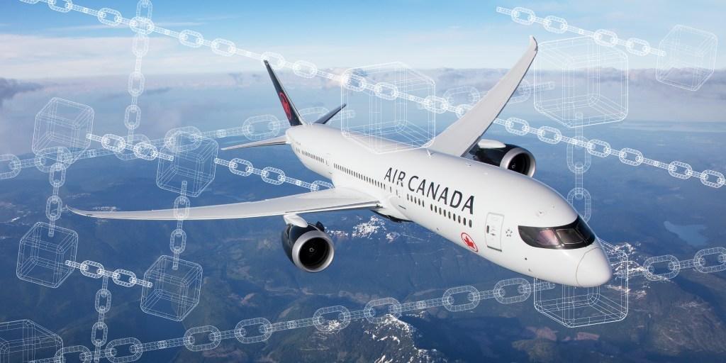Air Canada: vers une plateforme de distribution de voyages blockchain 0001
