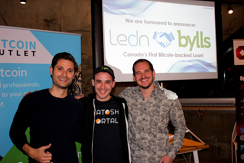 Ledn et Bylls réalisent le premier prêt en Bitcoin au Canada 0001