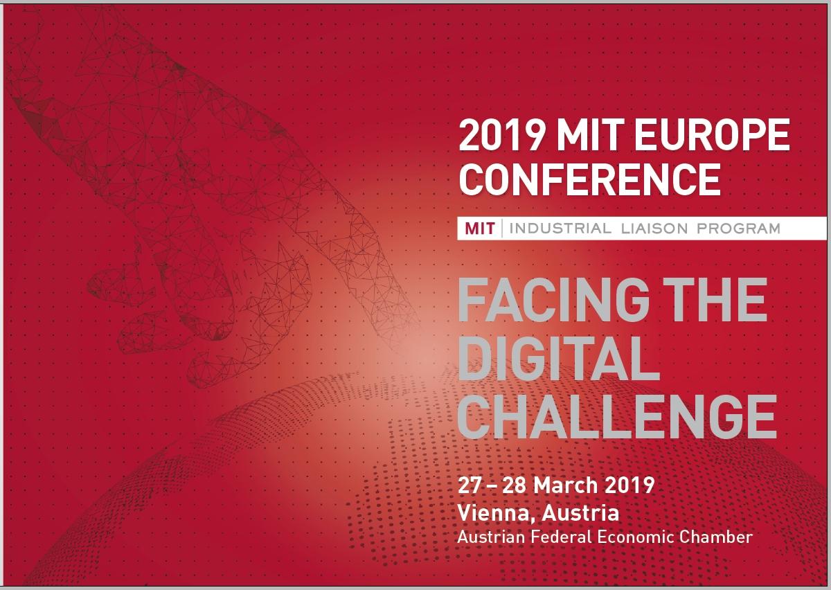 """MIT EUROPE CONFERENCE 2019 bringt die """"digitale Herausforderung"""" 0001"""