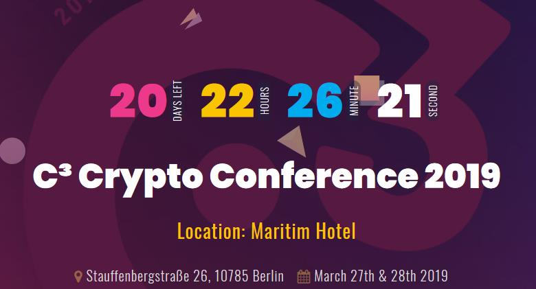 Crypto Conference 2019