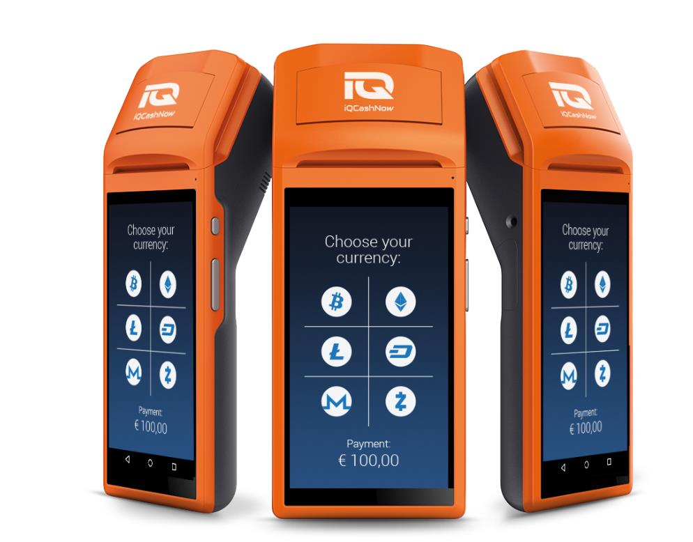 iQCashNow launcht ersten All-in-One POS-Terminal für Kryptowährungen 0001