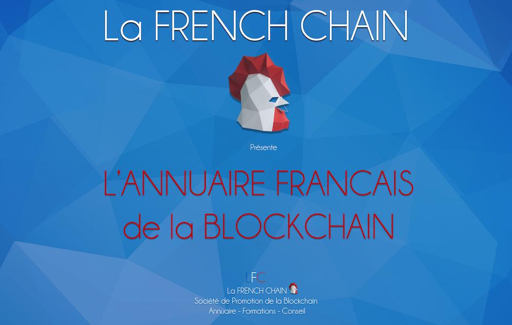 La French Chain: l'annuaire français de la blockchain 0001