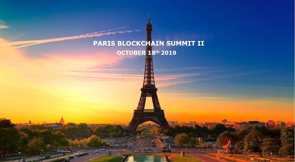 Le Paris Blockchain Summit se tiendra le 18 Octobre 2019 0001