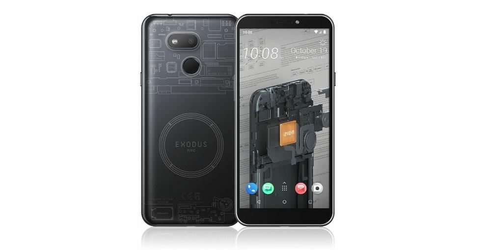 Le téléphone Bitcoin d'HTC vient de sortir 0001