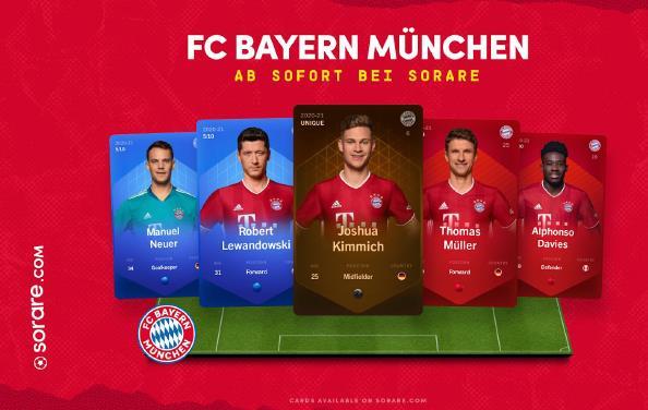 Sorare und Bayern München