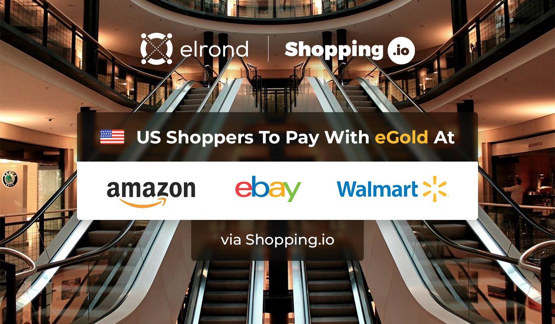 La plateforme Shopping.io accepte le paiement en eGold