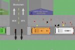 Bitcoin as a Bus Station