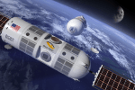 Un voyage dans l'espace, payable en cryptos