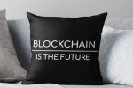 Crypto Shopping du dimanche: Coussin Blockchain