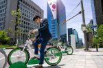 """Des villes sud-coréennes récompensent les cyclistes avec des """"jetons"""""""