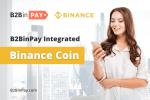 B2BinPay Integrates BNB Blockchain Adding Native BNB Coin Payment Service