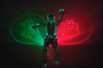 Un artiste visuel fait danser Bitcoin en laser