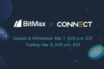 Connect Financial to List CNFI Tokens with BitMax