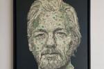 Art: achetez le portrait de Julian Assange en dollars avec du Bitcoin (BTC)