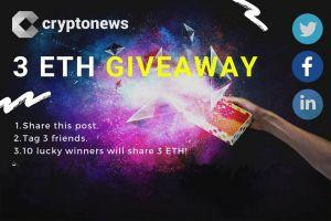 The One And Only REAL ETH Giveway by Cryptonews