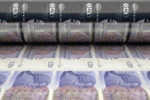 British Money Printer Goes BRRR: Bank to Buy USD 125bn of Bonds