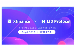 DeFi project Xfinance (XFI) presale sceduled for Sept 10th