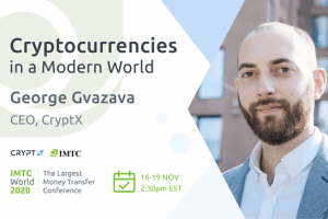 George Gvazava of CryptX To Speak at IMTC World 2020
