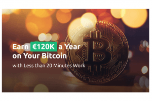 Earn €120K a Year on Your Bitcoin and Euros with Less than 20 Minutes Work