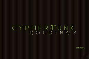 Cypherpunk Holdings Inc. Announces Updated Bitcoin Holdings
