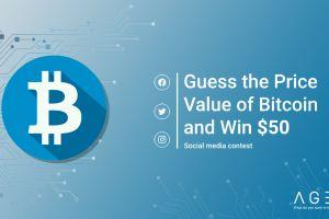 AGEA.Trade: Guess the price value of the Bitcoin and win $50