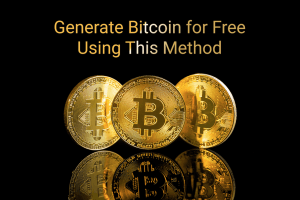 Generate Bitcoin for Free Using This Method
