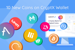 CryptX Adds Support for 10 New ERC-20 Tokens