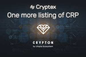 Utopia P2P's Crypton (CRP) Now Available on Cryptex.net for USD