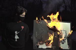 NFT: Can Burning A Banksy Make It More Valuable?