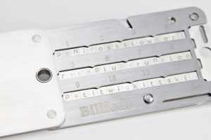 Billfodl Stainless Steel Wallet Backup Review