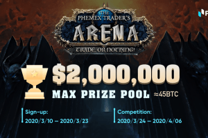 Join the Phemex Trader's Arena - A Competition with 45 BTC on the Line