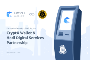 Hodl Services Partners with CryptX for Security & Reliability