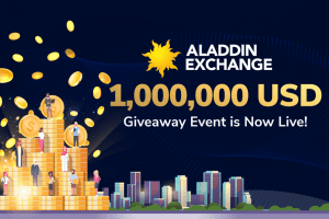 Aladdin Exchange 1 Million USD Giveaway Event is Now Live