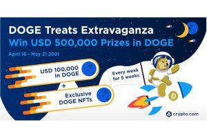 DOGE Treats Extravaganza - USD 500,000 in DOGE Prizes!