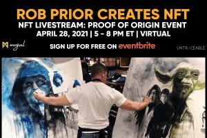 NFT Livestream: Proof of Origin Event