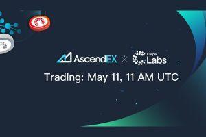 CasperLabs Listing on AscendEX