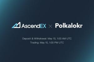 PolkaLokr Listing on AscendEX