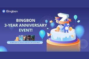 Bingbon Celebrates Third Anniversary with Trading Competition and NFTs