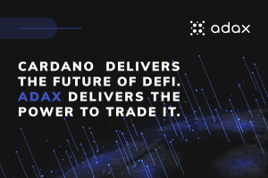 ADAX, State-of-the-Art Decentralized Exchange Protocol on Cardano!