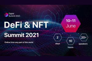 DEFI & NFT Summit Will Bring Together 16+ TOP Experts on June, 10-11
