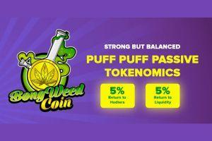 BONGWEEDCOIN - Growing DeFi Token - World Cannabis Legalization Movement