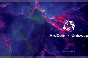 ArdCoin (ARDX) is Now Available on UniSwap
