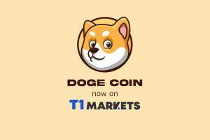 Dogecoin Now Available to Trade on T1Markets