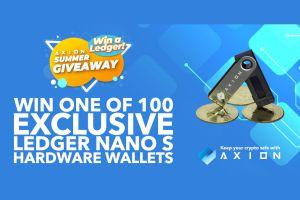 Axion - New Staking Crypto With Bitcoin Dividends - Ledgers Giveaway