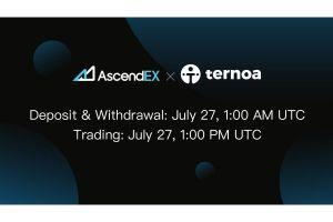 Ternoa to List on AscendEX