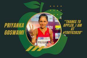 Priyanka Goswami: AppleB Made My Tokyo Olympics Dream Come True