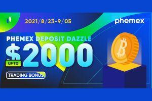 Phemex Deposit Dazzle
