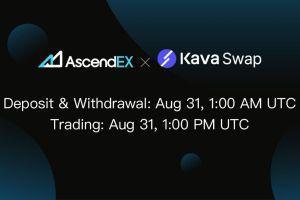 Kava Swap Lists on AscendEX