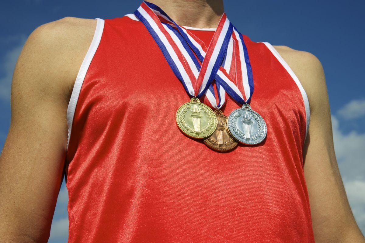 масла фотографии спортсменов с медалями осьминог является